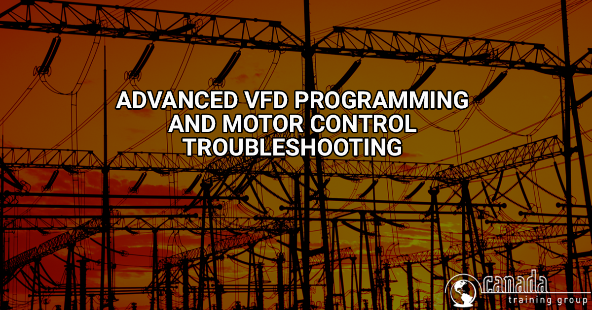 Advanced Vfd Programming And Motor Control Troubleshooting